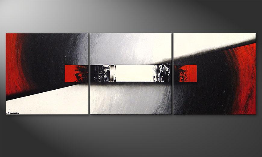 Awakening of Spirit 210x70x2cm quadro da soggiorno