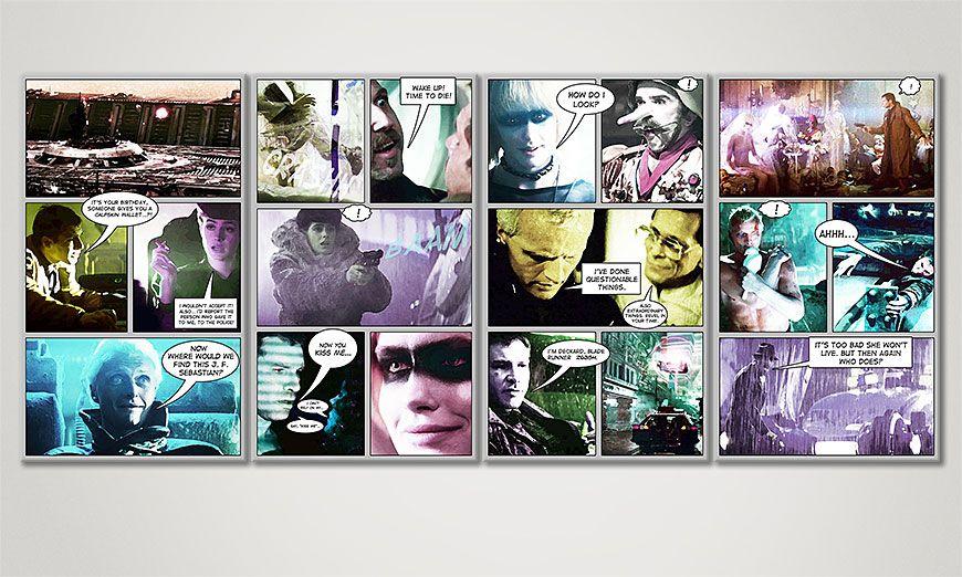 Blade Runner 160x70x2cm quadro