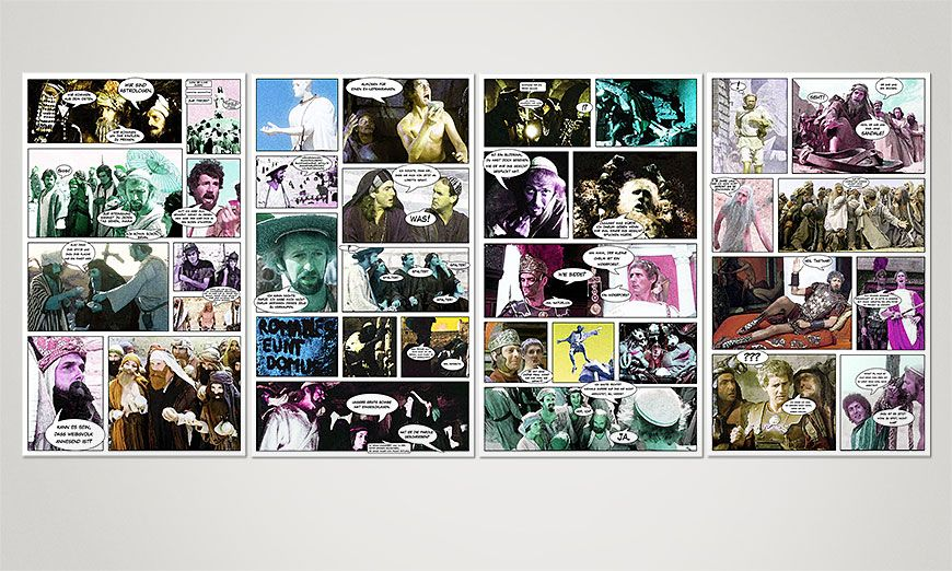 Brian di Nazareth 160x70x2cm quadro