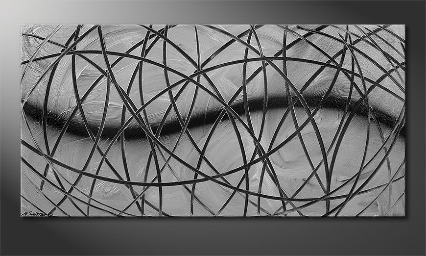 Broken White 120x60x2cm quadro