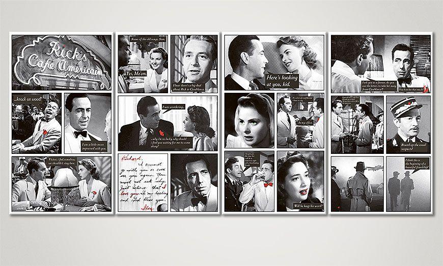 Casablanca 160x70x2cm quadro