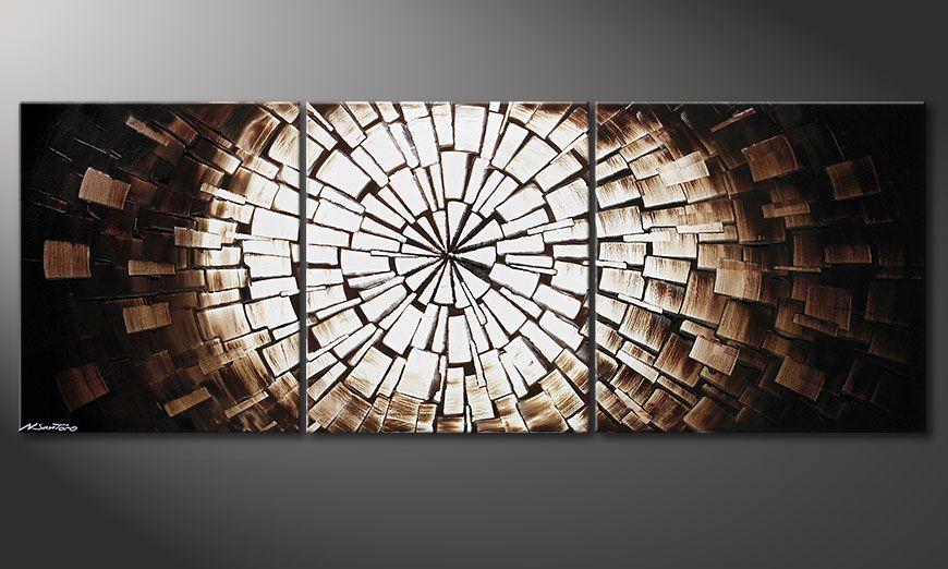 Center of Babylon 190x70x2cm quadro moderno