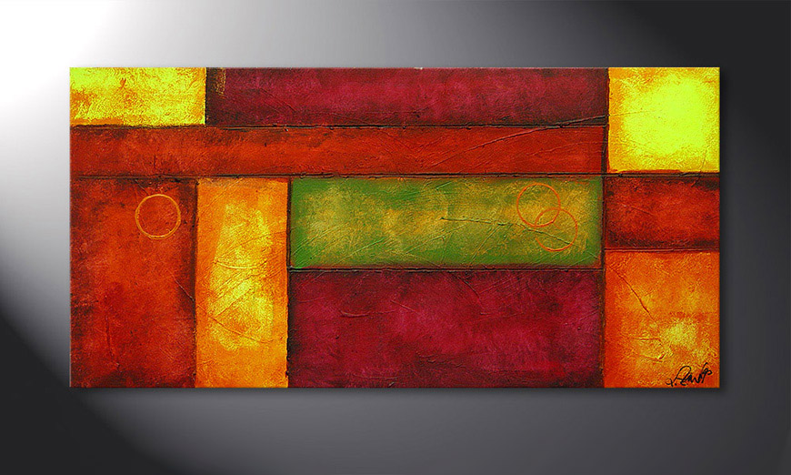 Come Together 120x60x2cm quadro