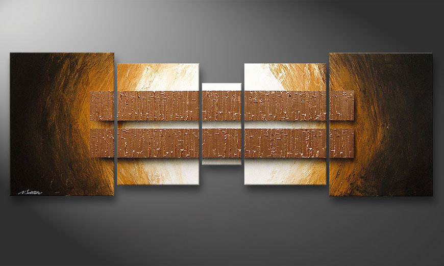 Copper Blocs 200x70x2cm quadro