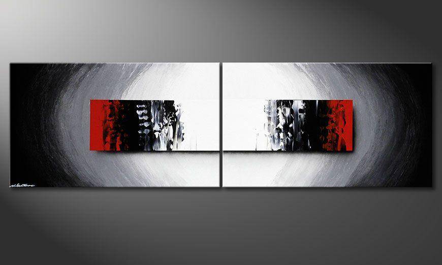 Deep Space 200x60x2cm quadro