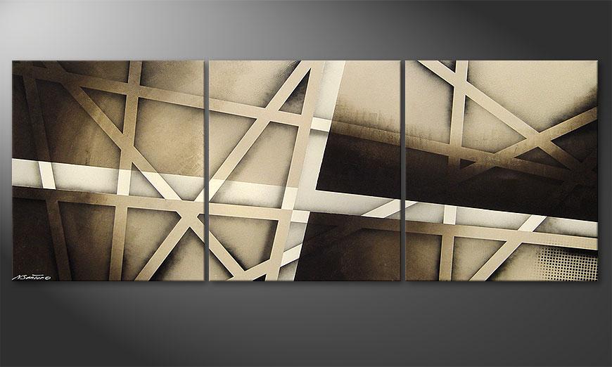 Earthquake 180x70x2cm Bild