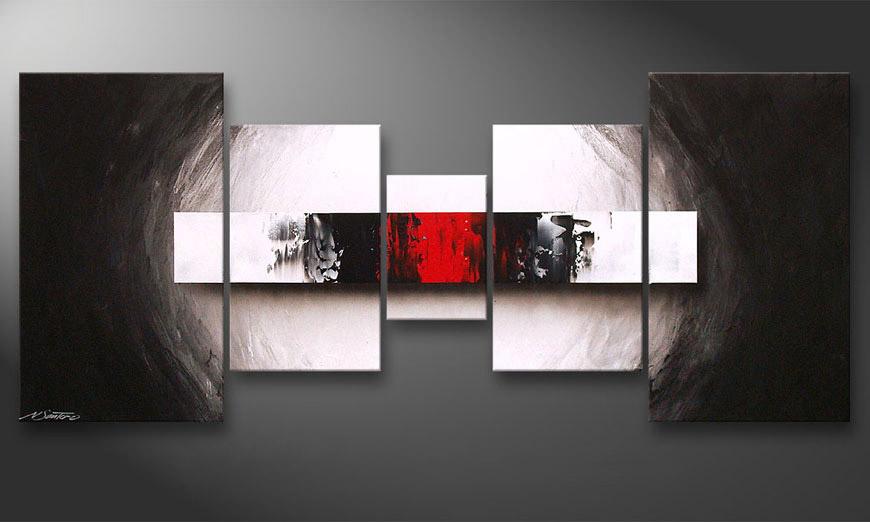 End of Contrast 160x70cm quadro da soggiorno - Quadri XXL