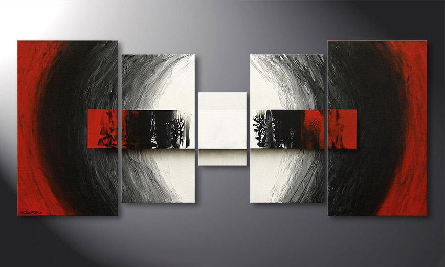 End of Extremes 160x70x2cm quadro