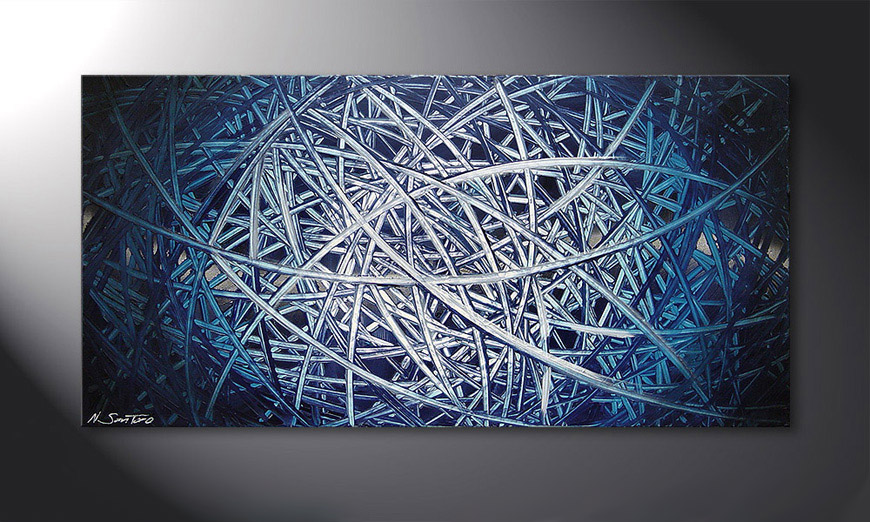 Energy of Water 120x60x2cm quadro