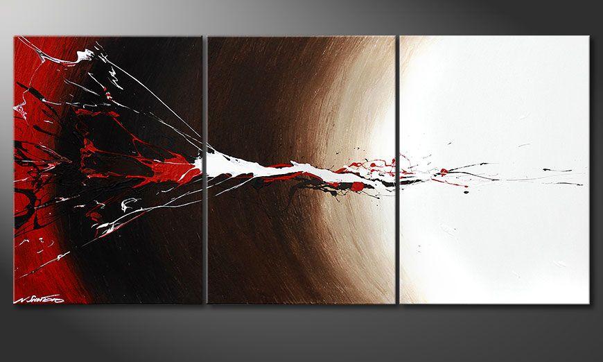 Erupted Contrast 150x70x2cm quadro