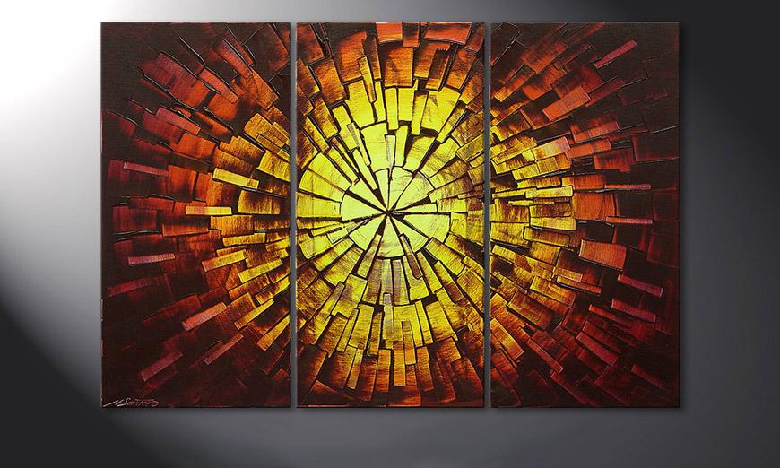 Fiery Explosion 120x80x2cm quadro