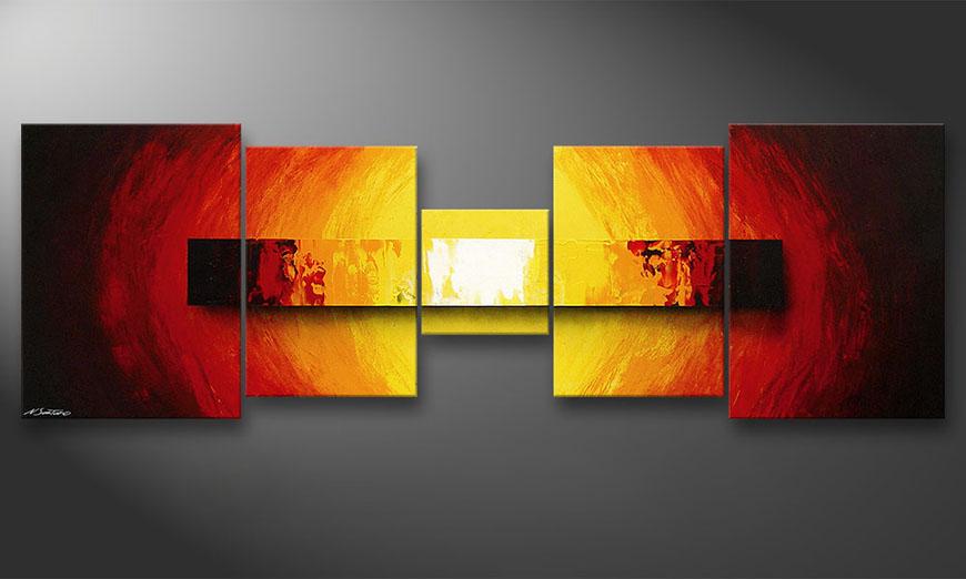 Fire Bloc 210x70x2cm quadro