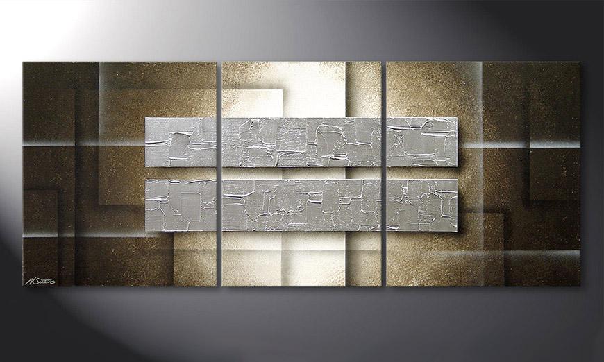 Frozen Blocs 170x70x2cm quadro