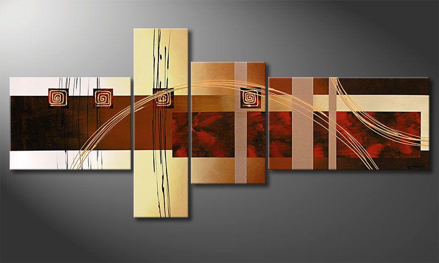 Golden Ways 220x100x2cm quadro XXL