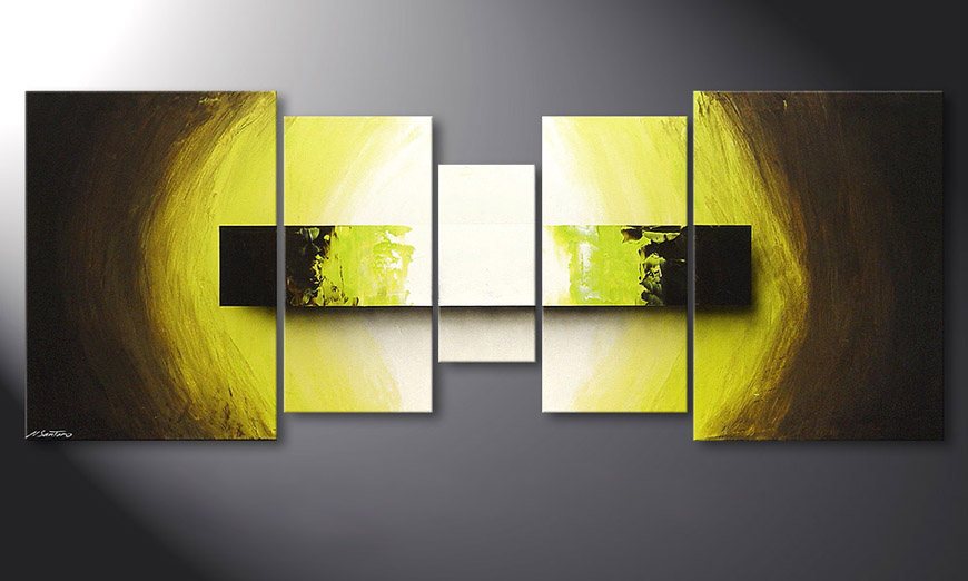 Green Vision 180x70x2cm quadro