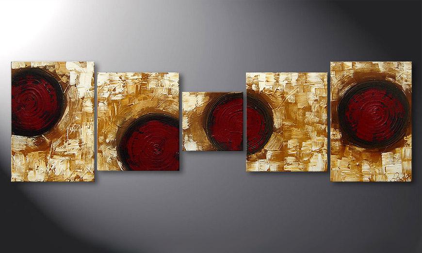Hot Spots 190x60x2cm quadro