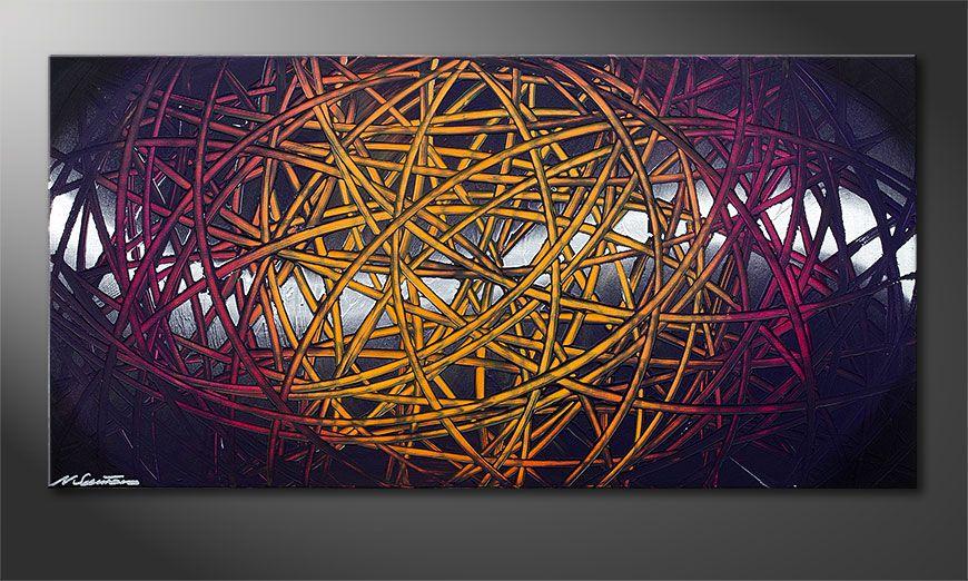 Indian Moonlight 120x60x2cm quadro