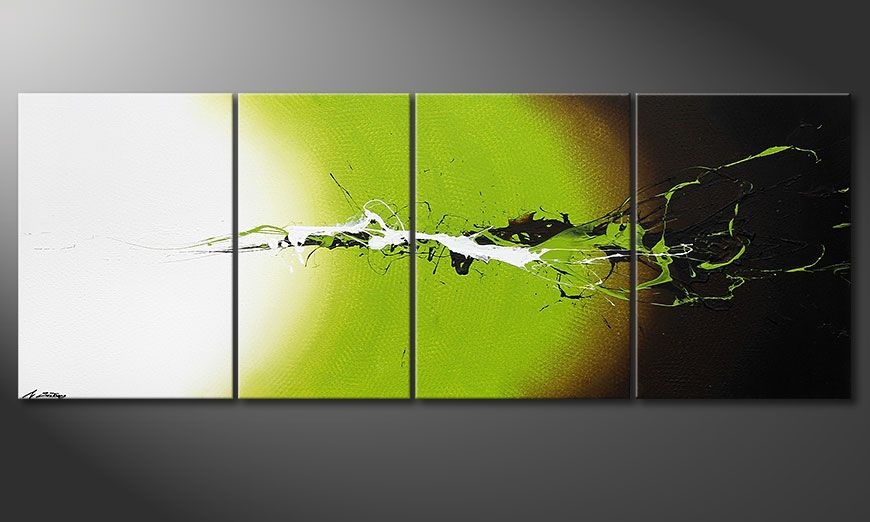 Juicy Splash 190x70x2cm quadro