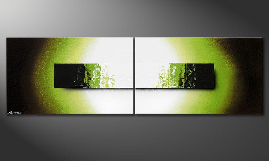 Jungle Fever 200x60x2cm quadro su tela