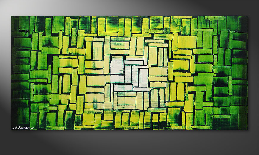 Jungle Light 120x60x2cm quadro