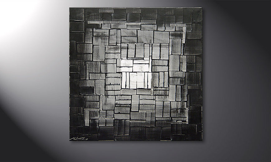 Light Cube 80x80x2cm quadro