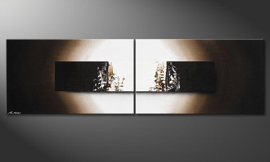 Light Rain 200x60x2cm quadro