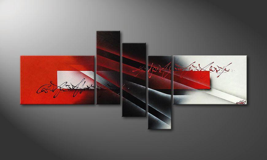Lights of Contrast 180x80x2cm quadro moderno