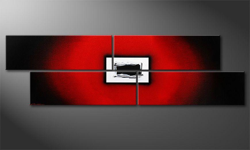 Lost Red 200x60x2cm quadro