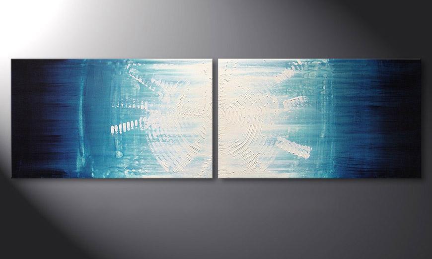 Maelstrom 200x60x2cm quadro
