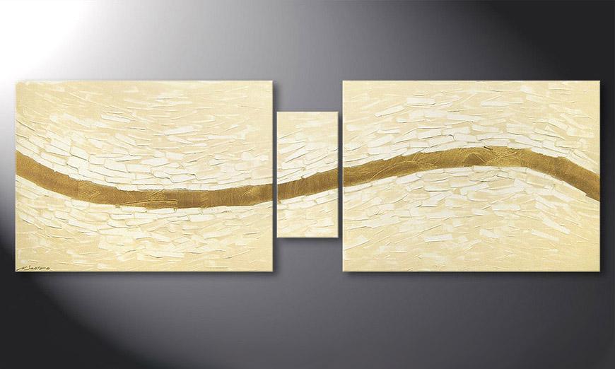 Mellow River 180x60x2cm quadro