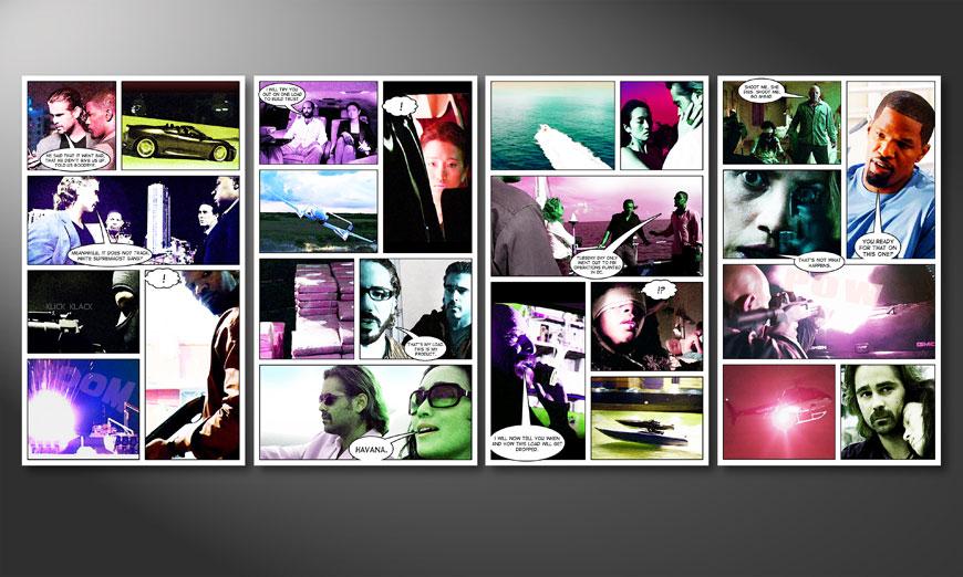 Miami Vice 160x70x2cm quadro