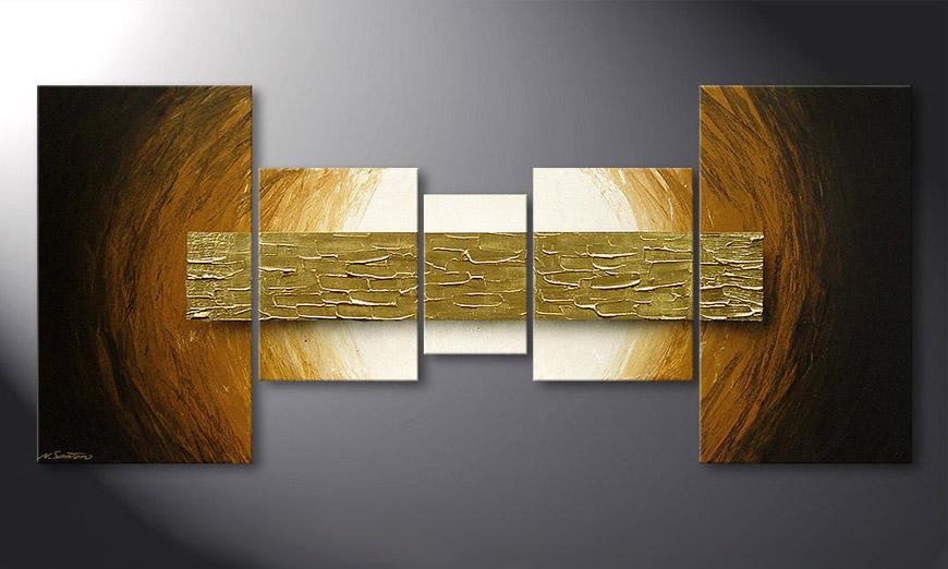 Natural Gold 160x70x2cm quadro
