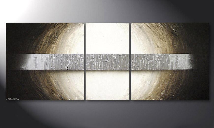 Overcome an Abstracle 180x70x2cm quadro