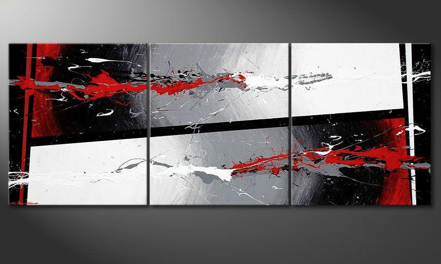 Powerful Contrast 180x70x2cm quadro
