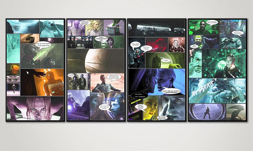 Prometheus 160x70x2cm quadro