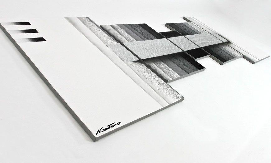 Quadro da soggiorno Light in the Dark 200x70cm - Quadri XXL