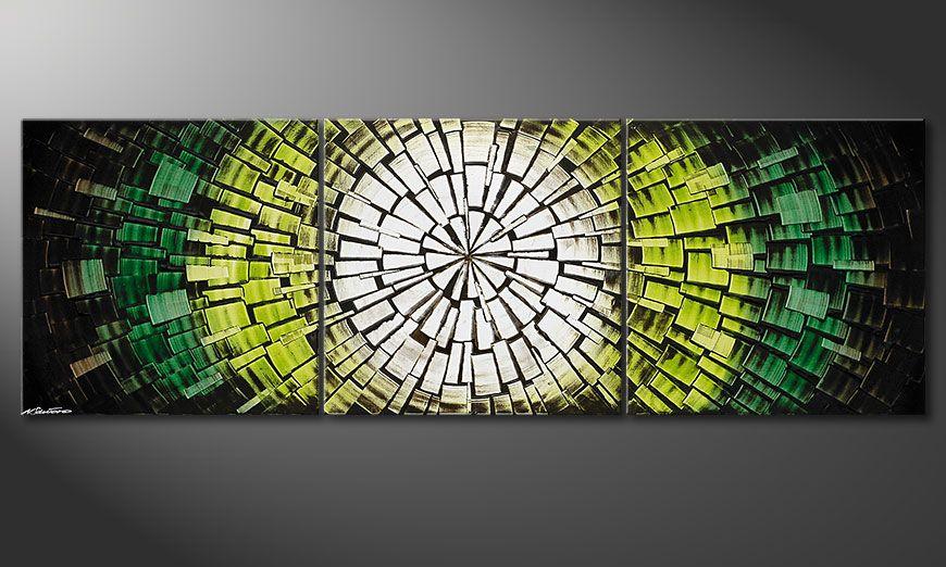 Quadro su tela Light of Hope 210x70x2cm