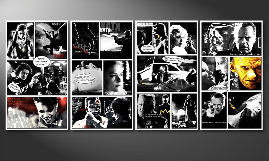 Sin City 160x70x2cm quadro