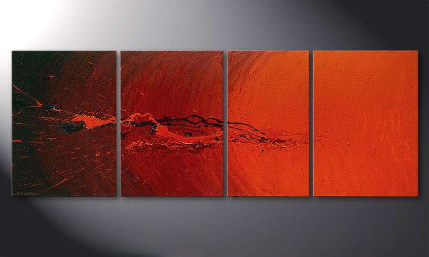 Splash of Glow 190x70x2cm quadro da soggiorno