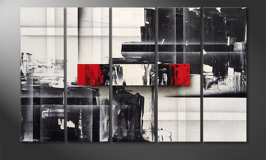 Split Mirror 150x90x2cm quadro