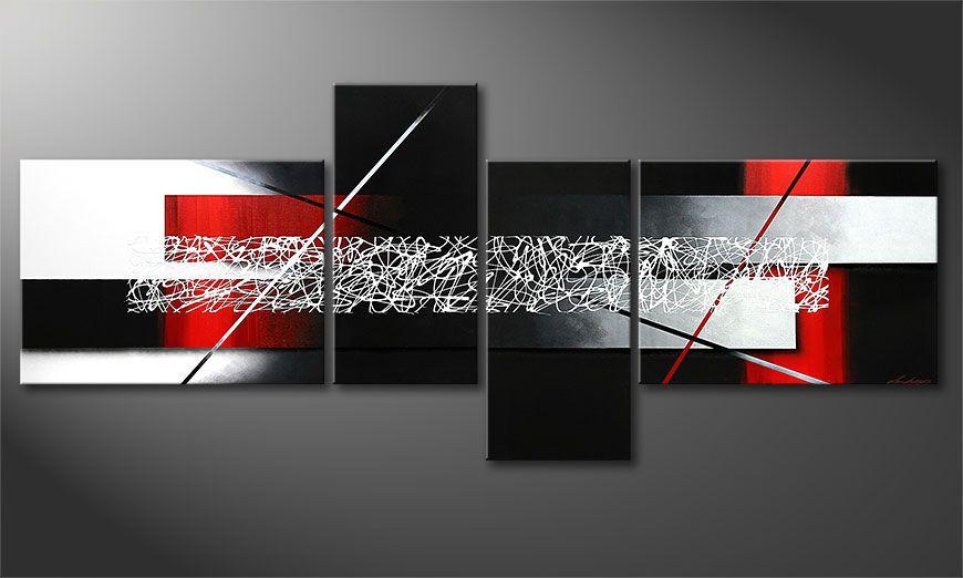 Sudden Inspiration 240x100x2cm quadro XXL