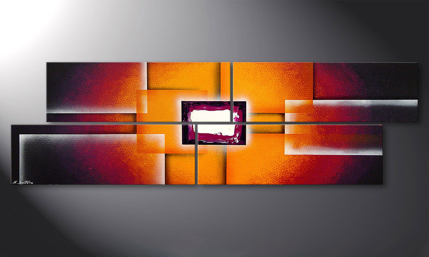 Sunrise Construction 200x60x2cm Bild