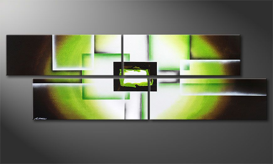 Tela-XXL Green Spirit 245x80x2cm