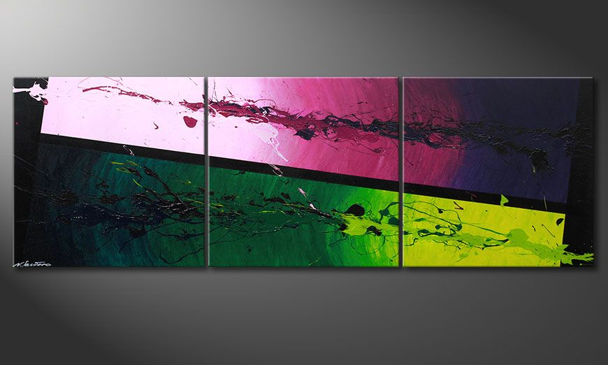 Tropic Splash 210x70x2cm quadro
