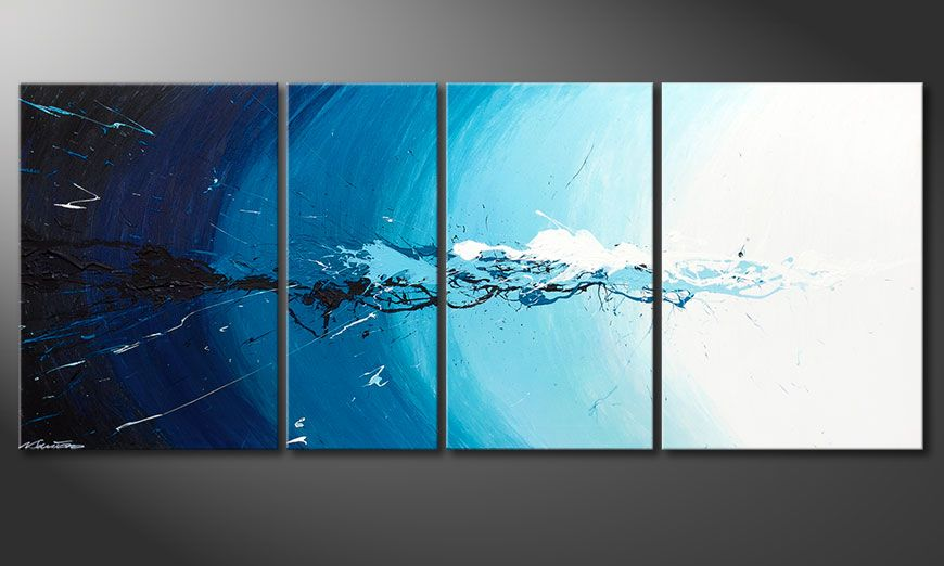 Water Splash 170x70x2cm quadro