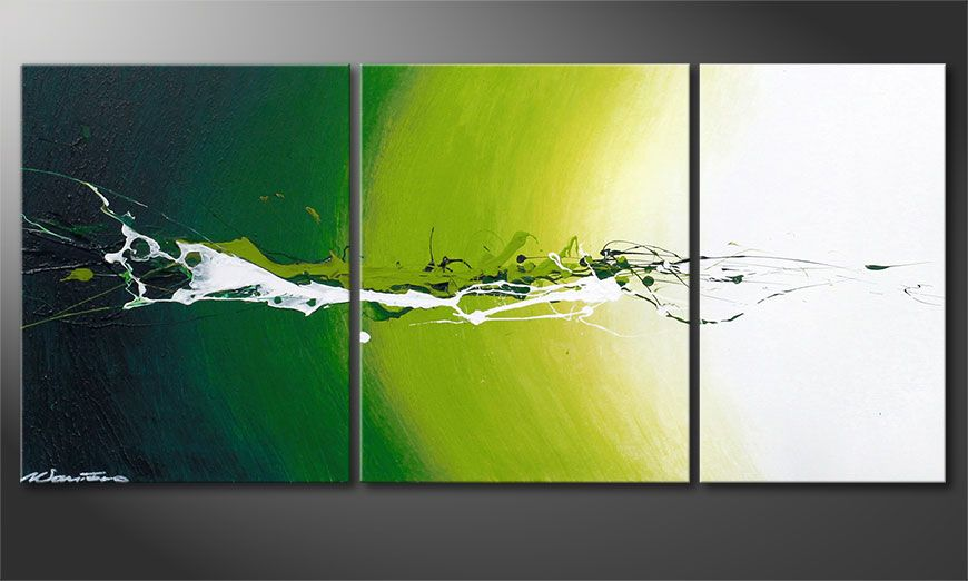 Dipinto moderno Power of Nature 110x50x2cm
