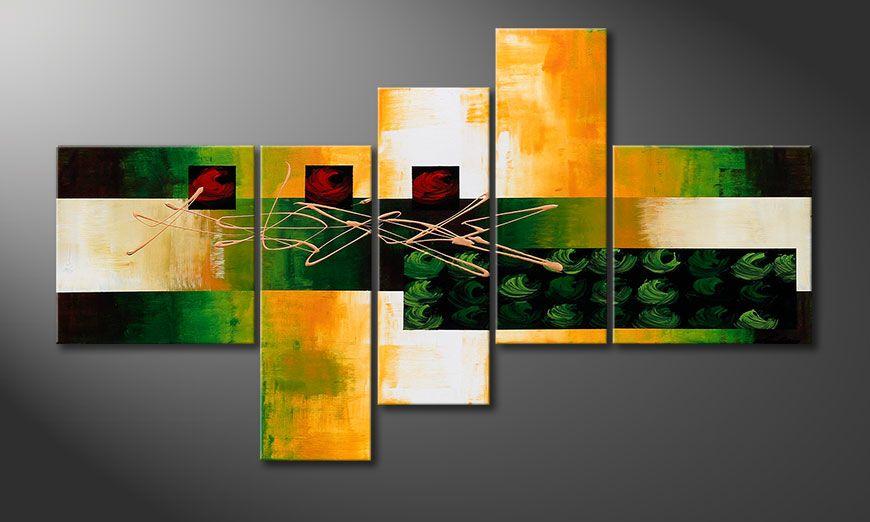 Dipinto moderno Quiet Love 130x75x2cm