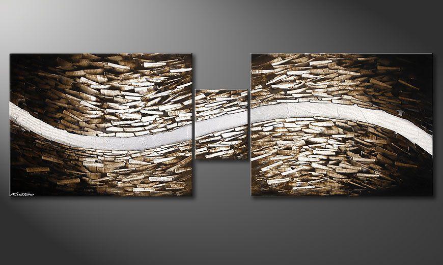 Quadri-XXL Clear River 230x80x2cm