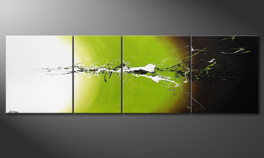 Quadro-XXL Juicy Splash 260x80x2cm