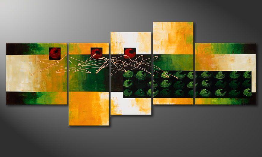 Quadro su tela Quiet Love 240x100x2cm